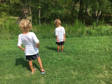 """My boys"" Nature Walk"